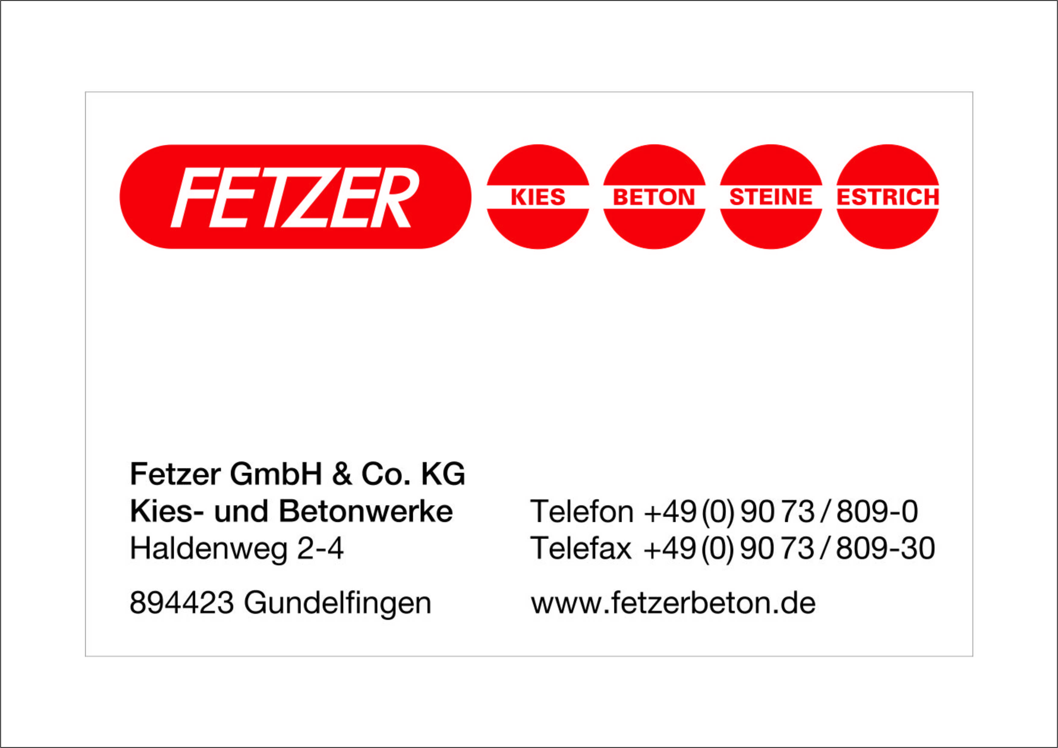 Fetzer GmbH & Co. KG
