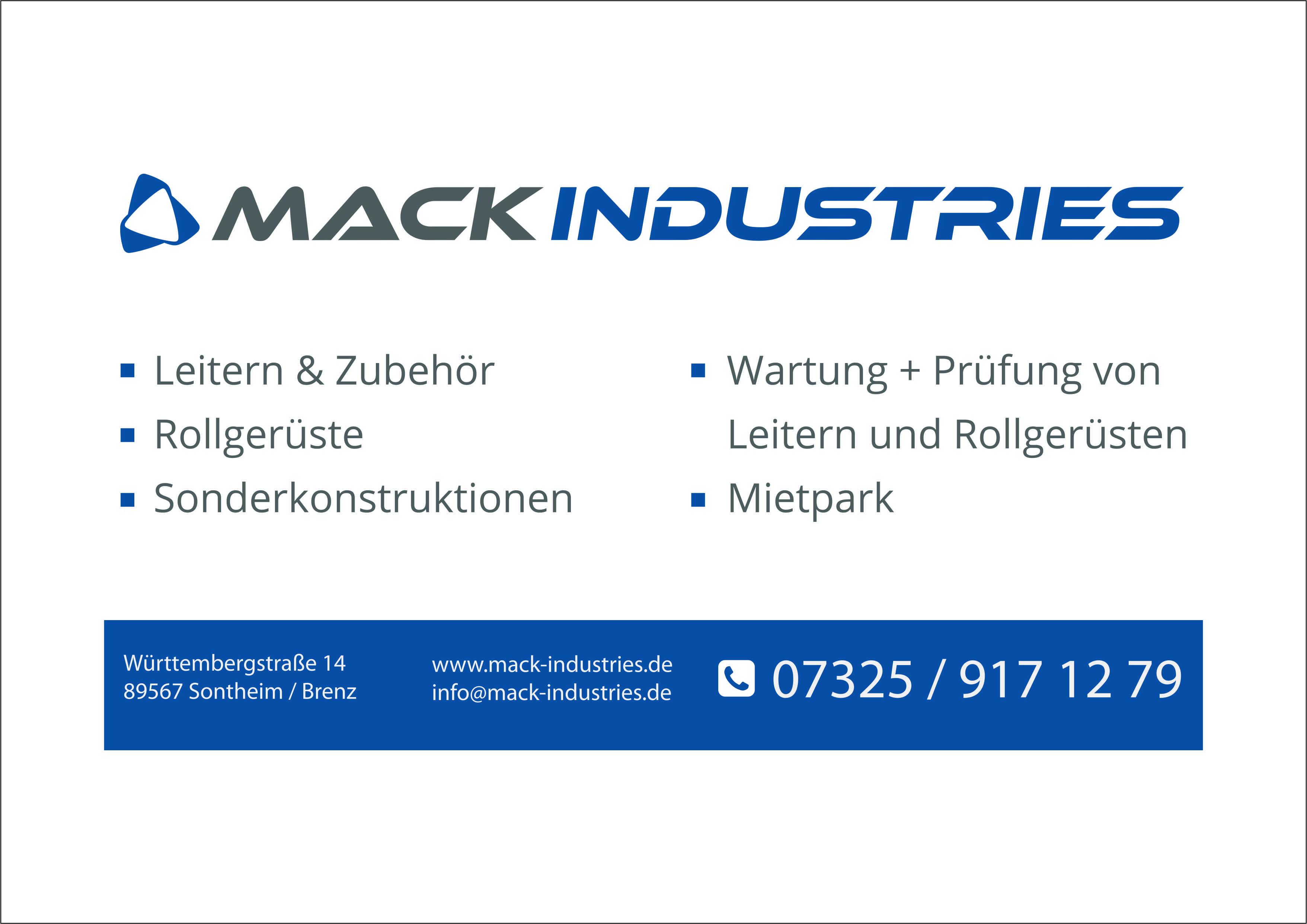 Mack IndustriesMack Industries